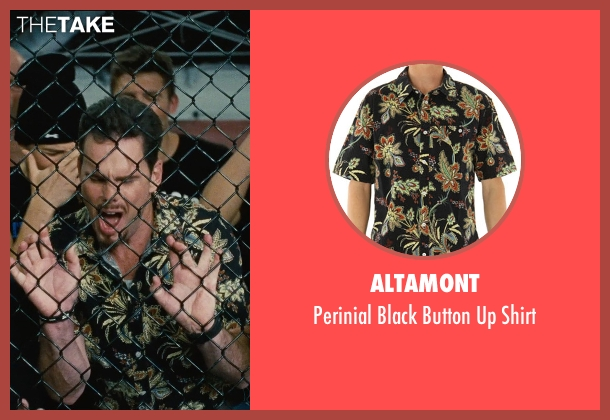 Altamont black shirt from Entourage seen with Kevin Dillon (Johnny Chase)
