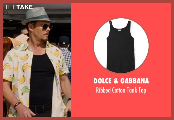 Dolce & Gabbana black top from Entourage seen with Kevin Dillon (Johnny Chase)