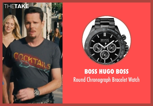 Boss Hugo Boss black watch from Entourage seen with Kevin Dillon (Johnny Chase)