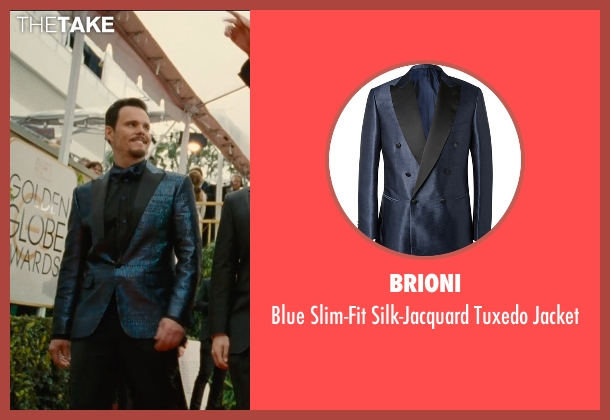 Brioni blue jacket from Entourage seen with Kevin Dillon (Johnny Chase)