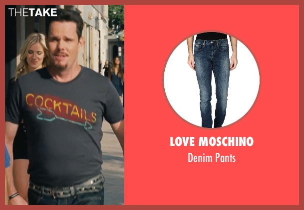 Love Moschino blue pants from Entourage seen with Kevin Dillon (Johnny Chase)