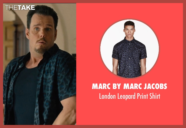 Marc by Marc Jacobs blue shirt from Entourage seen with Kevin Dillon (Johnny Chase)