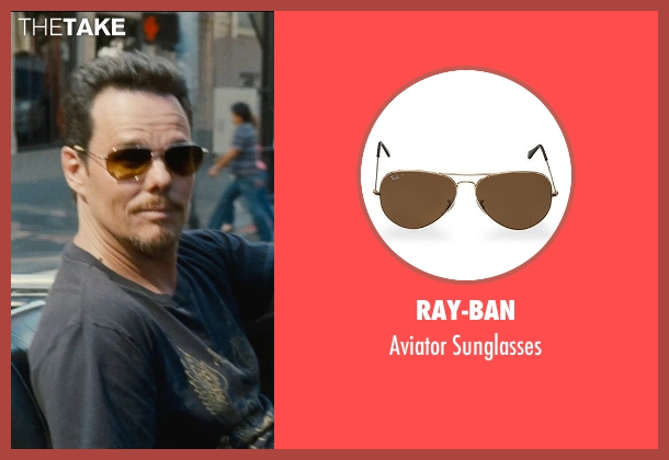Ray-Ban gold sunglasses from Entourage seen with Kevin Dillon (Johnny Chase)