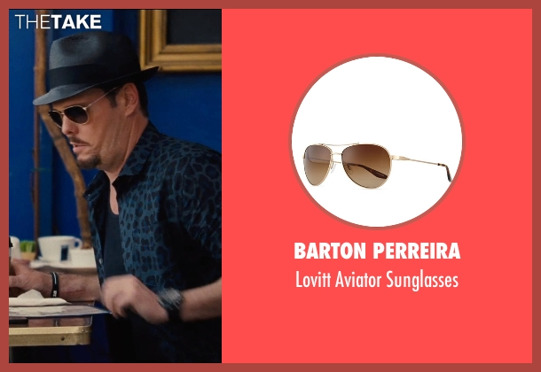 Barton Perreira	 gold sunglasses from Entourage seen with Kevin Dillon (Johnny Chase)
