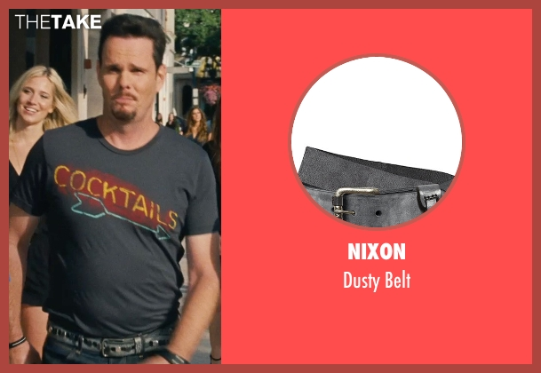 Nixon gray belt from Entourage seen with Kevin Dillon (Johnny Chase)