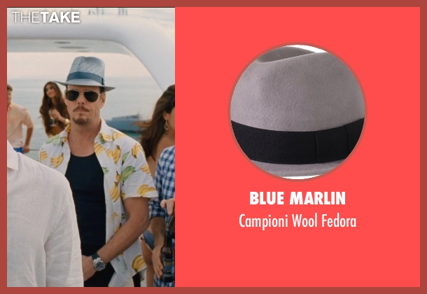 Blue Marlin gray fedora from Entourage seen with Kevin Dillon (Johnny Chase)