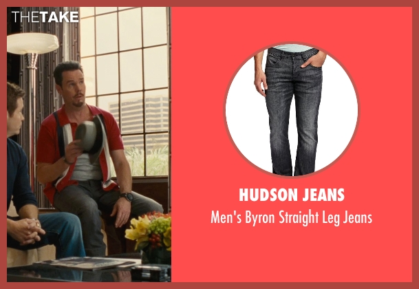 Hudson Jeans gray jeans from Entourage seen with Kevin Dillon (Johnny Chase)