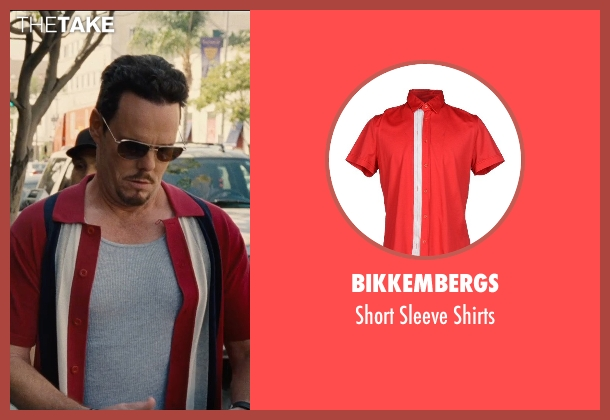 Bikkembergs red shirts from Entourage seen with Kevin Dillon (Johnny Chase)