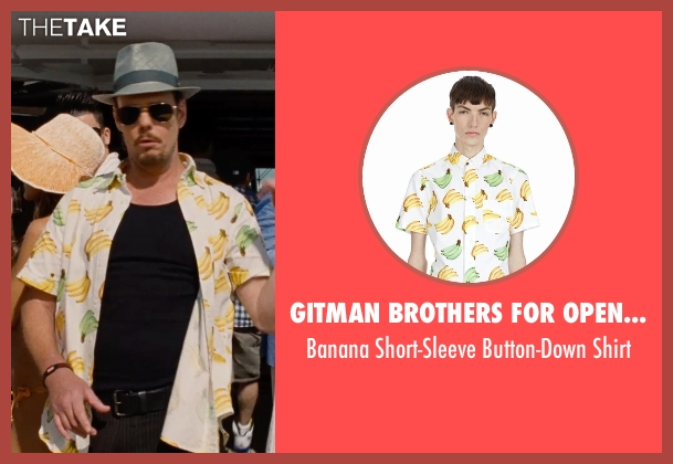 Gitman Brothers For Opening Ceremony yellow shirt from Entourage seen with Kevin Dillon (Johnny Chase)