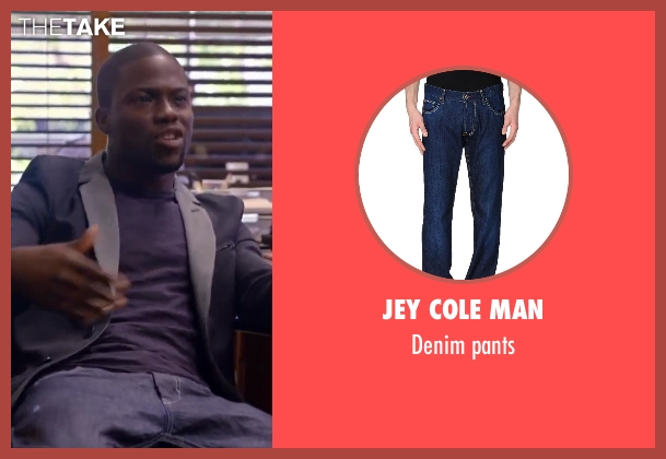 JEY COLE MAN pants from About Last Night seen with Kevin Hart (Bernie)