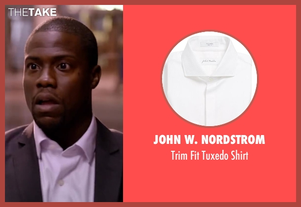 John W. Nordstrom white shirt from About Last Night seen with Kevin Hart (Bernie)