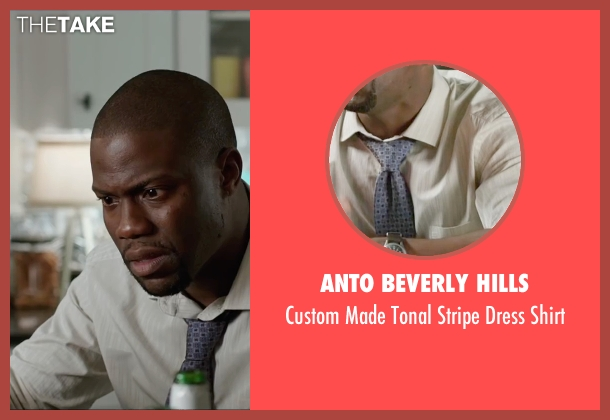 Anto Beverly Hills yellow shirt from Central Intelligence seen with Kevin Hart (Calvin)