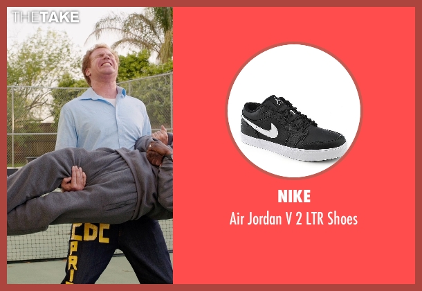 Nike black shoes from Get Hard seen with Kevin Hart (Darnell Lewis)