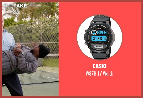 Casio black watch from Get Hard seen with Kevin Hart (Darnell Lewis)