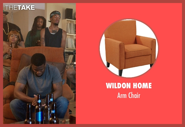 Wildon Home chair from Get Hard seen with Kevin Hart (Darnell Lewis)