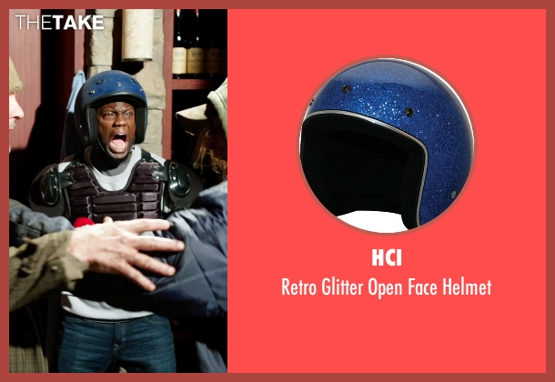 HCI helmet from Get Hard seen with Kevin Hart (Darnell Lewis)