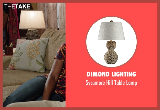 Dimond Lighting lamp from Get Hard seen with Kevin Hart (Darnell Lewis)