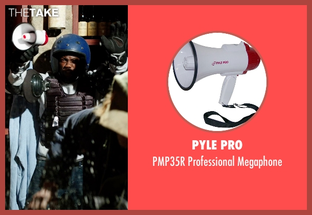 Pyle Pro megaphone from Get Hard seen with Kevin Hart (Darnell Lewis)