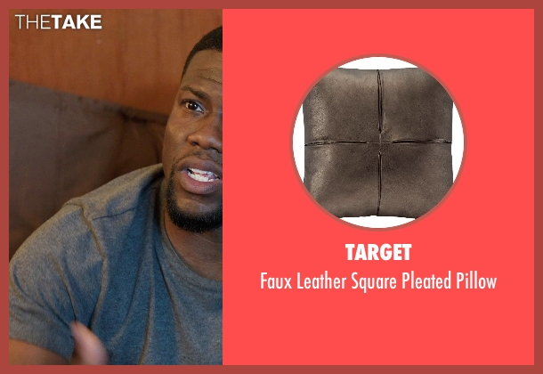 Target pillow from Get Hard seen with Kevin Hart (Darnell Lewis)