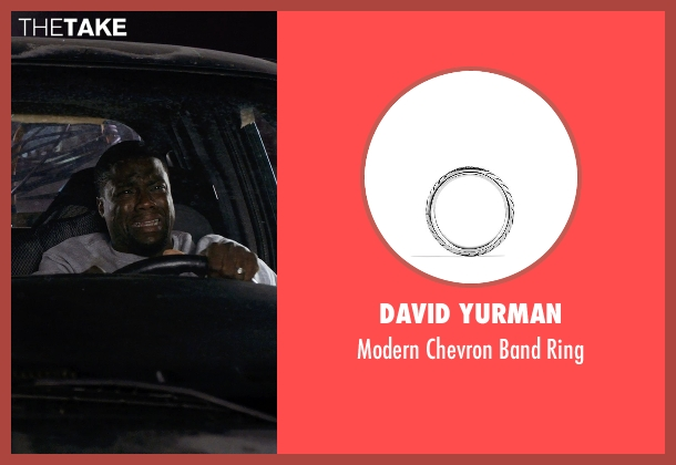 David Yurman silver ring from Get Hard seen with Kevin Hart (Darnell Lewis)