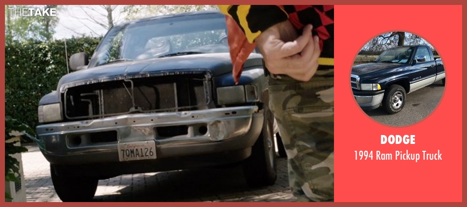 Dodge truck from Get Hard seen with Kevin Hart (Darnell Lewis)