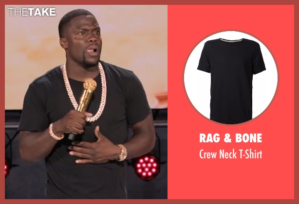 Rag & Bone black t-shirt from Kevin Hart: What Now? seen with Kevin Hart