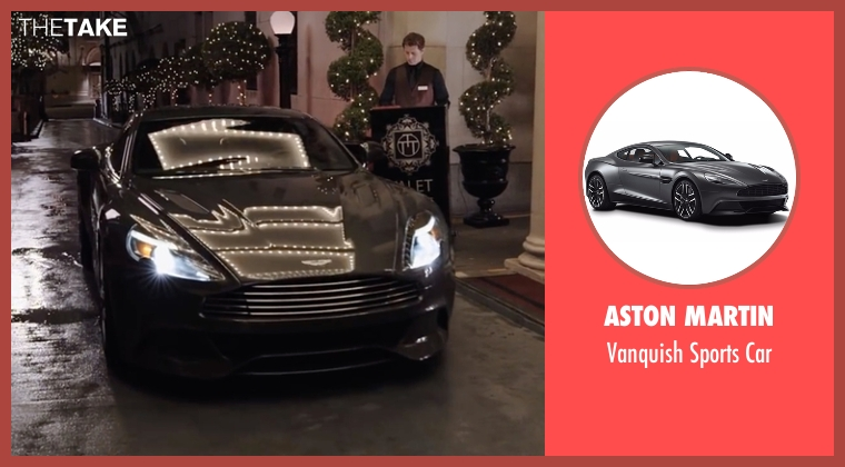 Aston Martin car from Kevin Hart: What Now? seen with Kevin Hart