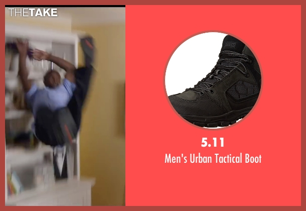5.11 black boot from Ride Along 2 seen with Kevin Hart (Ben Barber)