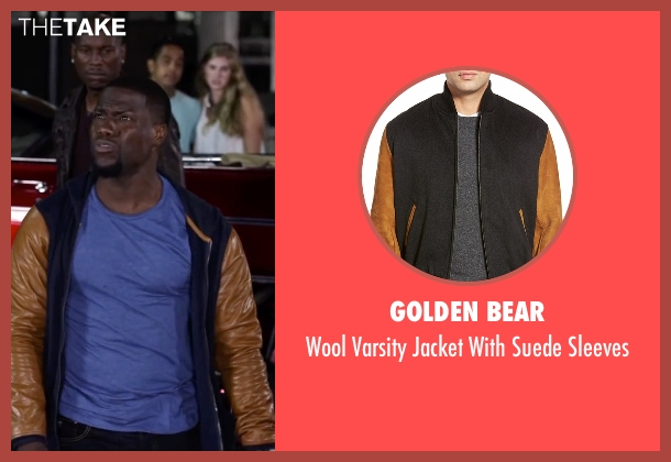 Golden Bear black sleeves from Ride Along 2 seen with Kevin Hart (Ben Barber)