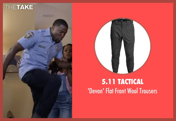 5.11 Tactical black trousers from Ride Along 2 seen with Kevin Hart (Ben Barber)