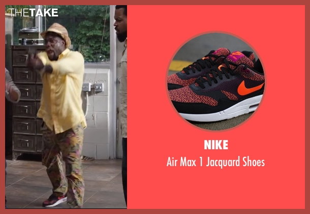 Nike orange shoes from Ride Along 2 seen with Kevin Hart (Ben Barber)