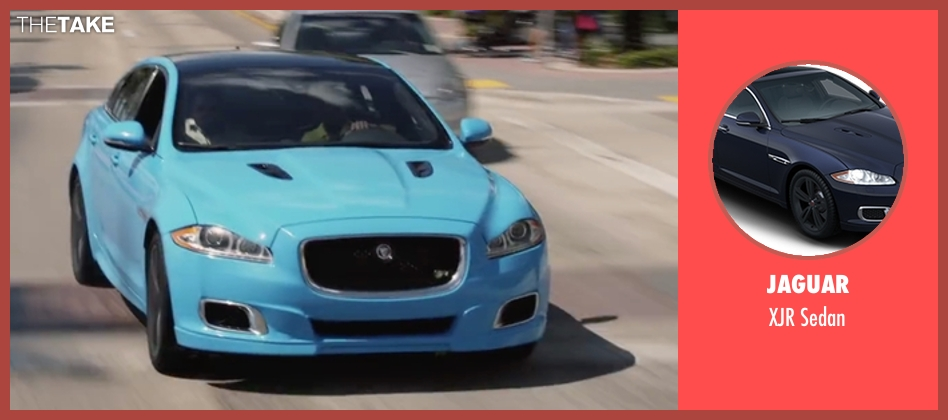 Jaguar sedan from Ride Along 2 seen with Kevin Hart (Ben Barber)