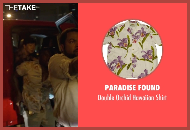 Paradise Found white shirt from Ride Along 2 seen with Kevin Hart (Ben Barber)