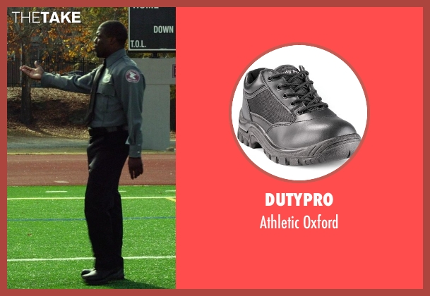 DutyPro black oxford from Ride Along seen with Kevin Hart (Ben Barber)