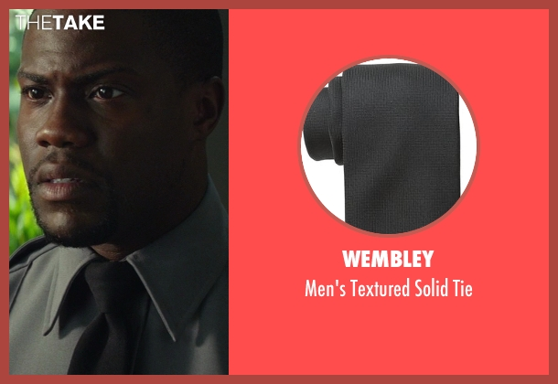 Wembley black tie from Ride Along seen with Kevin Hart (Ben Barber)