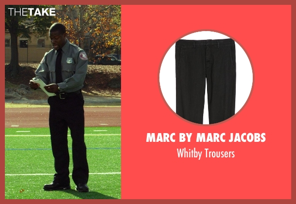 Marc by Marc Jacobs black trousers from Ride Along seen with Kevin Hart (Ben Barber)