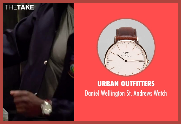 Urban Outfitters black watch from Ride Along seen with Kevin Hart (Ben Barber)