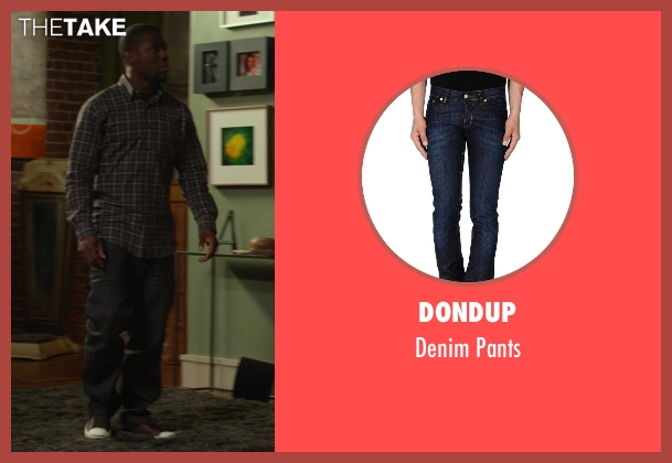 DONDUP blue pants from Ride Along seen with Kevin Hart (Ben Barber)