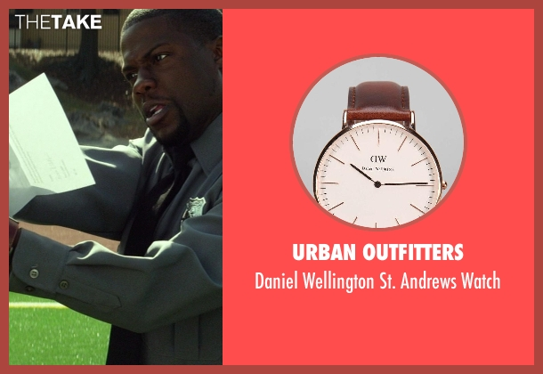 Urban Outfitters brown watch from Ride Along seen with Kevin Hart (Ben Barber)