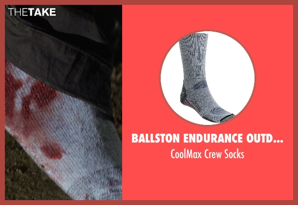 Ballston Endurance Outdoor gray socks from Ride Along seen with Kevin Hart (Ben Barber)
