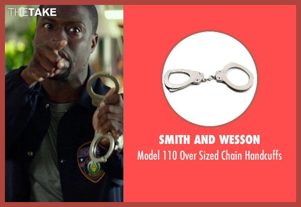 Smith and Wesson handcuffs from Ride Along seen with Kevin Hart (Ben Barber)