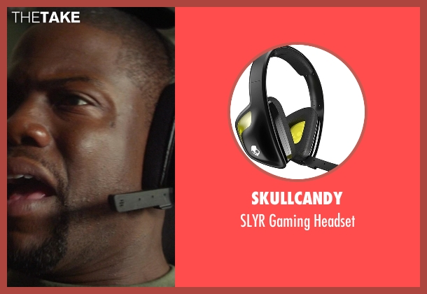 SkullCandy headset from Ride Along seen with Kevin Hart (Ben Barber)