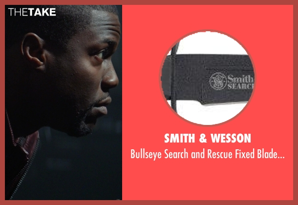 Smith & Wesson knife from Ride Along seen with Kevin Hart (Ben Barber)