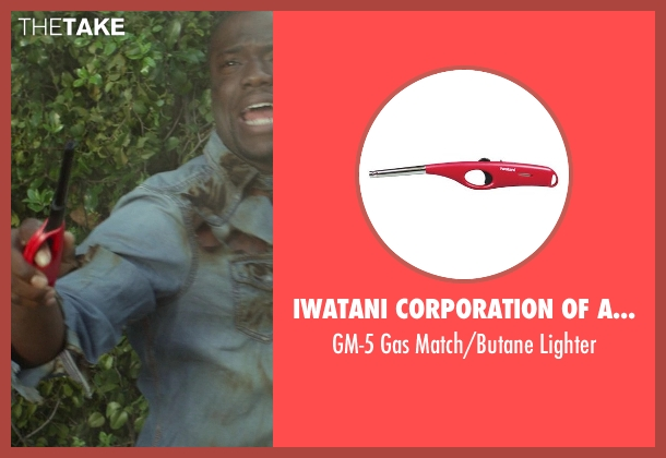 Iwatani Corporation of America lighter from Ride Along seen with Kevin Hart (Ben Barber)