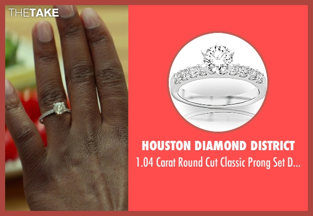 Houston Diamond District ring from Ride Along seen with Kevin Hart (Ben Barber)