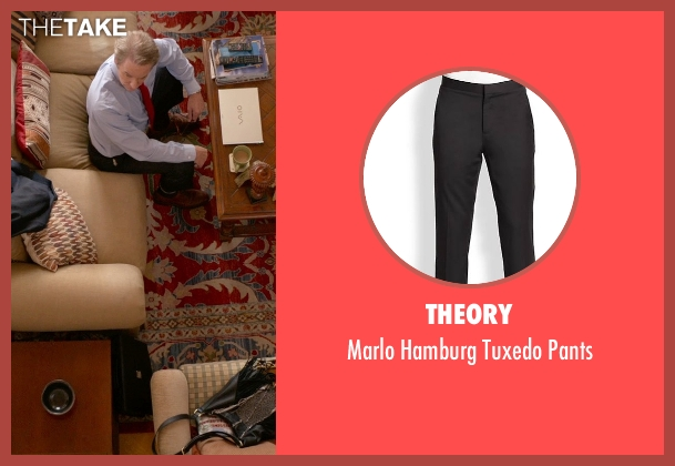 Theory black pants from Ricki and the Flash seen with Kevin Kline (Pete Brummel)