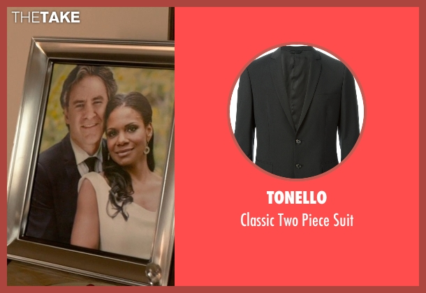 Tonello black suit from Ricki and the Flash seen with Kevin Kline (Pete Brummel)