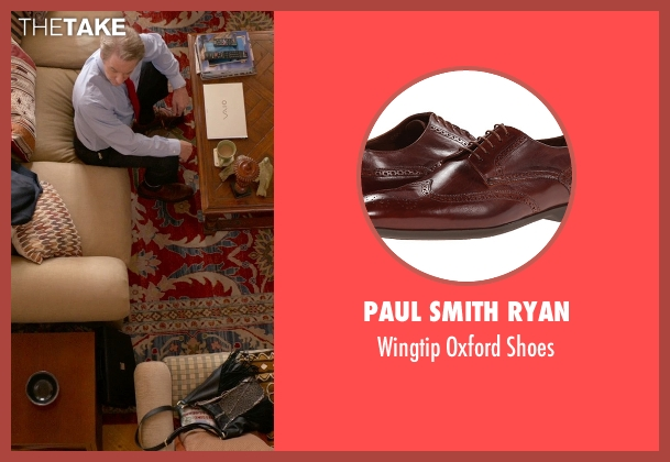 Paul Smith Ryan brown shoes from Ricki and the Flash seen with Kevin Kline (Pete Brummel)
