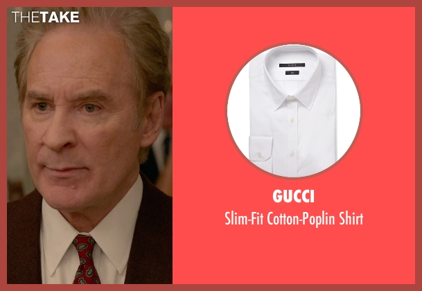 Gucci white shirt from Ricki and the Flash seen with Kevin Kline (Pete Brummel)