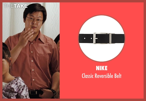 Nike black belt from (500) Days of Summer seen with Kevin Leung (Chinese Father)